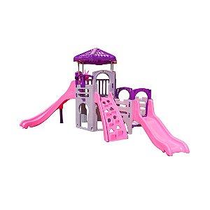 Playground UnicórnioPlay Freso com Escorregador Infantil