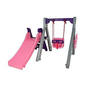 Playground Baby UnicórnioPlay Freso com Gangorra e Escorregador Infantil