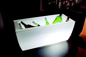 Champanheira de Chão em Plástico Freso 120 Cm Iluminada