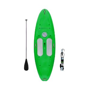 Prancha Stand Up Paddle com Remo e Leash Verde Freso