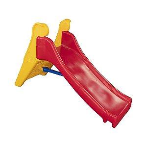 Escorregador Pequeno Infantil de Plástico Resistente Freso