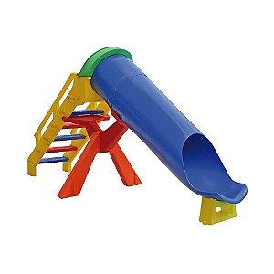 Escorregador Toboágua Infantil Multicolor de Plástico Freso