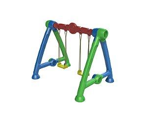 Balanço Infantil de Plástico para Criança Freso Lado a Lado