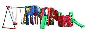 Playground Polaris Fly com Tubo Freso