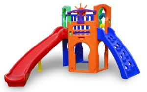Playground Royal Play Freso com Escorregador Infantil Curvo
