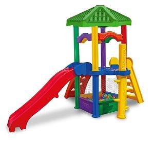 Playground Centro de Atividades Freso c/ Piscina de Bolinhas