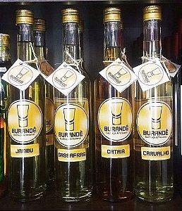 Cachaça Artesanal Burandê Sassafrás 500 ml