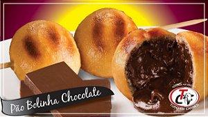 ESPETO ASSADO PÃO BOLINHA CHOCOLATE - 1UN