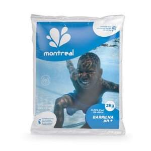 Barrilha pH+ 2Kg Montreal
