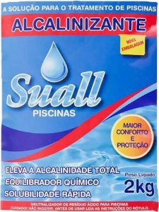 Bicabornato de sódio 2Kg Suall (Elevador de alcalinidade)