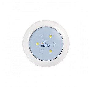 Luz de LED branco frio 3W 12V 63MM 3/4 NAUTILUS