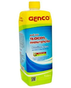 Algicida manutenção Pooltrat 1Lt Genco