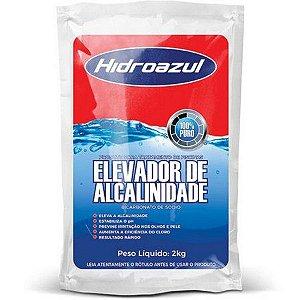 Elevador de alcalinidade 2Kg Hidroazul (Bicabornato de sódio)