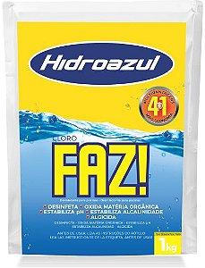 Cloro FAZ 4 em 1 1KG Hidroazul