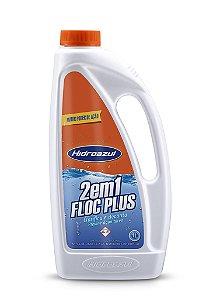 Floc Plus 2 em 1 - 1lt Hidroazul