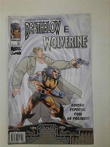 Gibi Deathblow e Wolverine - Edição Especial Autor Abril (1998) [novo]