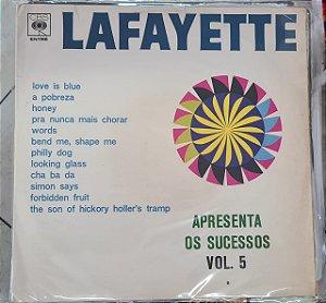 Disco de Vinil Lafayette - Apresenta os Sucessos Vol.5 Interprete Lafayette (1968) [usado]
