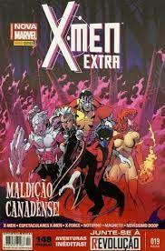 Gibi X-men Extra Nº 19 - Totalmente Nova Marvel Autor Maldição Canadense (2015) [usado]