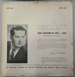 Disco de Vinil Hugo Winterwhalter Goes To... Latin Interprete Hugo Winterwhalter (1959) [usado]