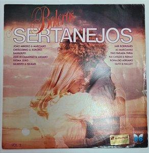 Disco de Vinil Boleros Sertanejos Interprete Vários Artistas. [usado]