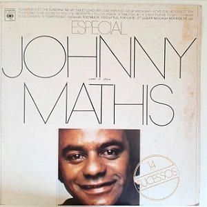 Disco de Vinil Johnny Mathis Especial Interprete Johnny Mathis (1978) [usado]