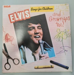 Disco de Vinil Sings For Children And Grown Ups Too Interprete Elvis (1978) [usado]