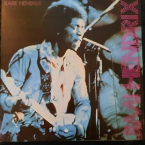 Disco de Vinil Jimi Hendrix - Rare Hendrix Interprete Jimi Hendrix (1977) [usado]
