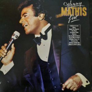 Disco de Vinil Johnny Mathis Live Interprete Johnny Mathis (1984) [usado]