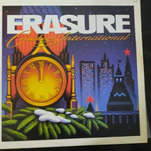 Disco de Vinil Erasure - Crackers International Interprete Erasure (1989) [usado]