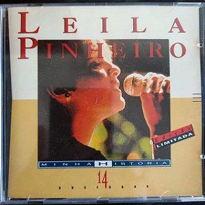 Cd Leila Pinheiro - Minha Historia 14 Sucessos Interprete Leila Pinheiro [usado]