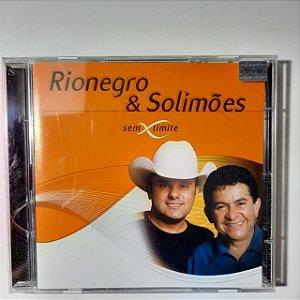 Cd Rionegro & Solimões sem Limite Interprete Rionegro e Solimões (2001) [usado]