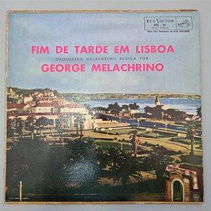 Disco de Vinil Fim de Tarde em Lisboa Interprete George Melachrino [usado]