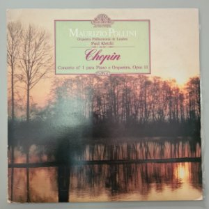 Disco de Vinil Chopin - Mestres Pelos Mestres Interprete Maurizio Pollini (1985) [usado]