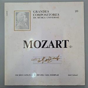 Disco de Vinil Grandes Compositores da Música Universal - Mozart Interprete Mozart (1969) [usado]