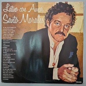 Disco de Vinil Latino Con Amor Interprete Santo Morales (1982) [usado]