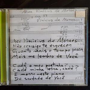 Cd Tom Canta Vinicius ao Vivo Interprete Tom Canta Vinicius (2000) [usado]