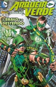Gibi Arqueiro Verde Nº 4 - os Novos 52! Autor (2015) [usado]