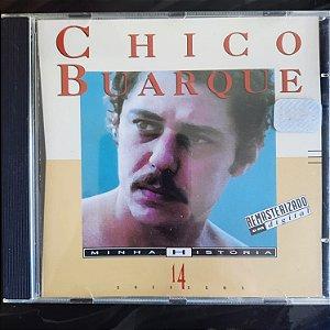Cd Chico Buarque - Minha História Interprete Chico Buarque (1994) [usado]