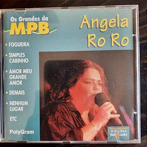Cd Angela Ro Ro - os Grandes da Mpb Interprete Angela Ro Ro (1998) [usado]