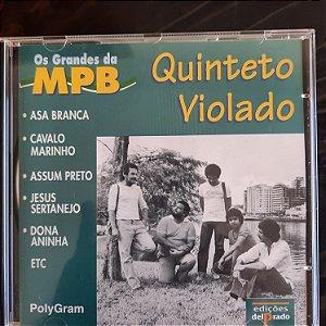 Cd Quinteto Violado - os Grandes da Mpb Interprete Quinteto Violado (1998) [usado]