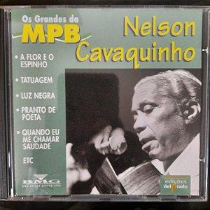 Cd Nelson Cavaquinho - os Grandes da Mpb Interprete Nelson Cavaquinho (1997) [usado]