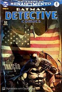 Gibi Batman Detective Comics Nº 02 Autor Renascimento (2017) [usado]