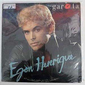 Disco de Vinil Egon Henrique - Garota Interprete Egon Henrique (1998) [usado]