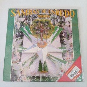 Disco de Vinil Sambas de Enredo - Grupo Especial Carnaval 91 Interprete Liga das Escolas de Samba de São Paulo (1991) [usado]