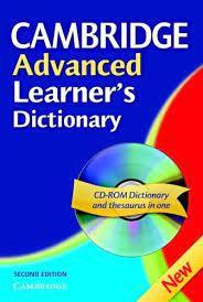 Livro Cambridge Advanced- Learner''s Dictionary Autor Desconhecido (2005) [usado]