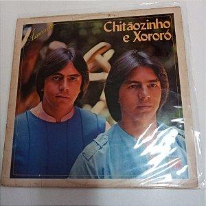 Disco de Vinil Amante - Chitãozinho e Xororó Interprete Chitãozinho e Xororó (1984) [usado]