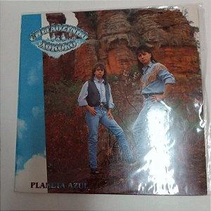 Disco de Vinil Planeta Azul - Chitãozinho e Xororó Interprete Chitãozinho e Xororó (1991) [usado]