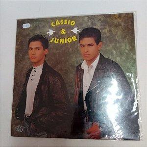 Disco de Vinil Cassio e Junior Interprete Cassio e Junior [usado]