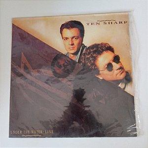 Disco de Vinil Under The Walter -line /ten Sharp Interprete Under The Walter - Linne Ten Sharp (1991) [usado]