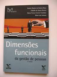 Livro Dimensões Funcionais de Gestão de Pessoas Autor Rocha-pinto, Sandra Regina (2003) [usado]